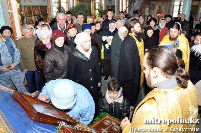 В Шымкент прибудут мощи православного святого Вонифатия
