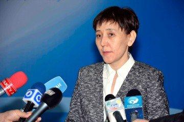 Министр труда и соцзащиты населения РК Тамара Дуйсенова