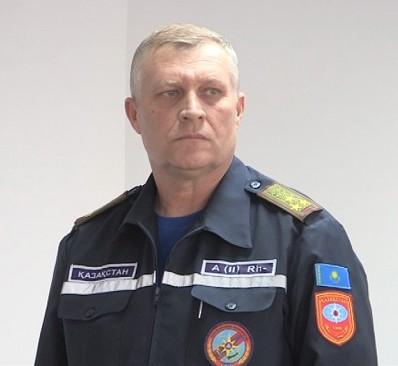 Новый руководитель ДЧС ЮКО Александр Путейко