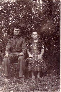Данила и Ефимья Семеновы