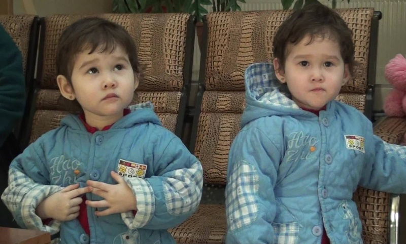 Две девочки-близняшки остались без матери