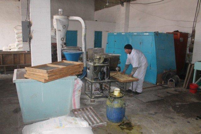 Макаронными изделиями заключенные обеспечивают все исправительные учреждения ЮКО.