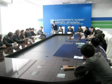В заключчение между ЦОП и АМПК был подписан меморандум о сотрудничестве в сфере развития молодежного предпринимательства