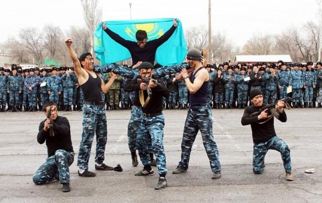 Спецназовцы обещают использовать полученные знания только во благо казахстанцев