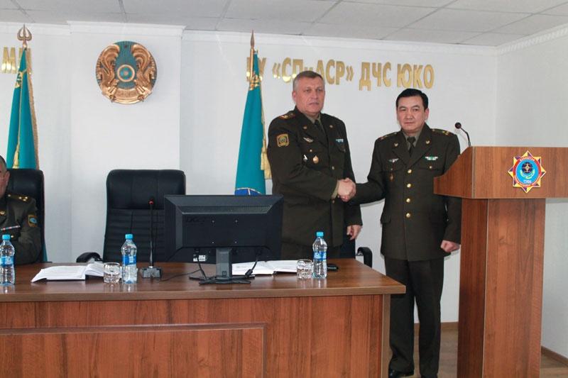 Назначен начальник службы пожаротушения и аварийно-спасательных работ ДЧС ЮКО