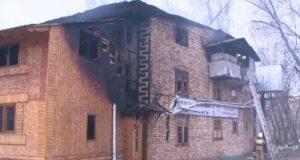Пожар в мусульманской бане