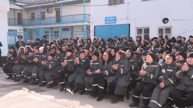 Осужденные женской колонии строгого режима 167/4 празднуют свой день