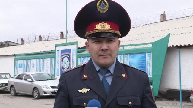 Заместитель начальника департамента Комитета уголовно-исполнительной системы по ЮКО Айтжан Бакиров