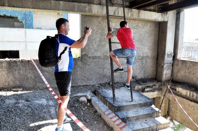 Шымкентские экстремалы спешат  совершить свой первый, дебютный прыжок