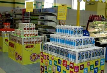 В Шымкенте не только одежда, но и продукты продаются со скидкой