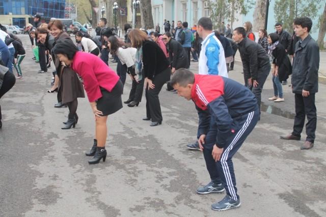 Разминка для коленных суставов