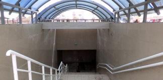 Подземный пешеходный переход, близ базара Бекжан, который был сдан в эксплуатацию в прошлом году, уже пришел в негодность