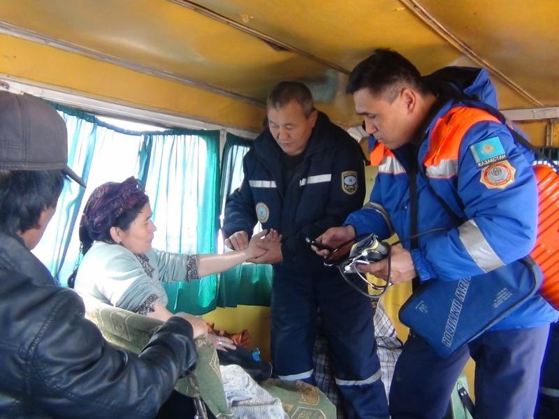 спасатели в ЗКО