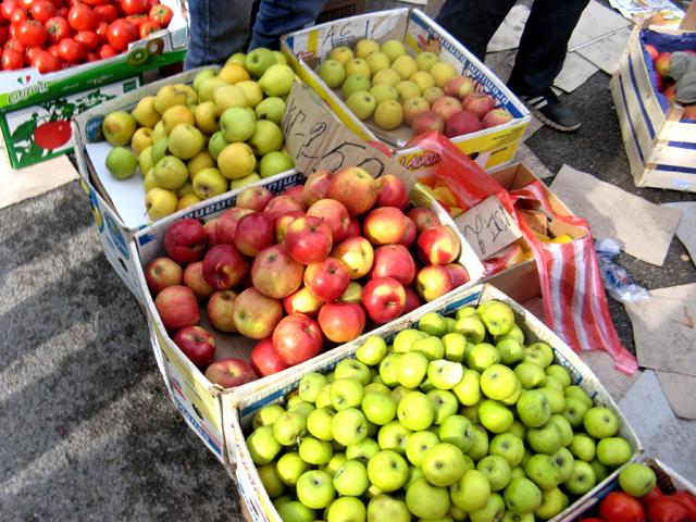 Цены на яблоки варьировали от 180 до 300 тенге