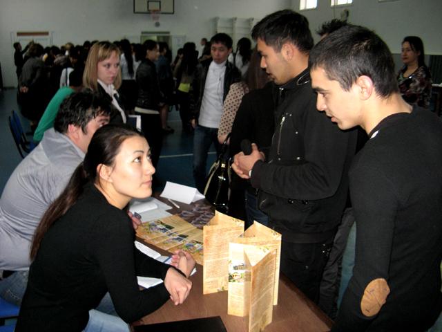 Более 15-ти предприятий области предложили молодым специалистам места для трудоустройства