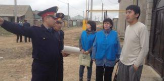 С жителями новостроек полицейские проводили разъяснительную беседу
