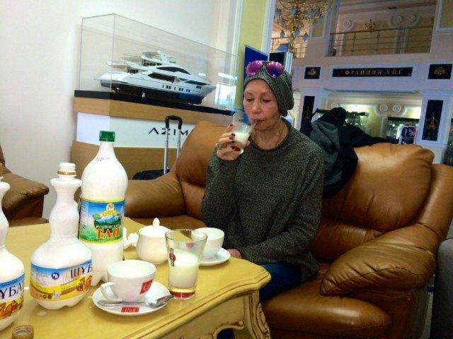 Татьяна Васильева пьет шубат