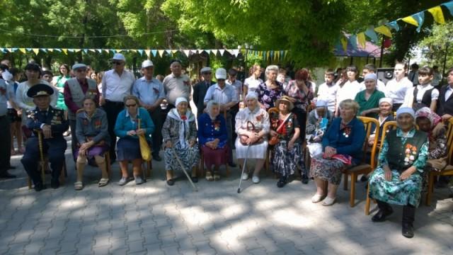 В Енбекшинском районе проживает 80 участников Второй Мировой войны