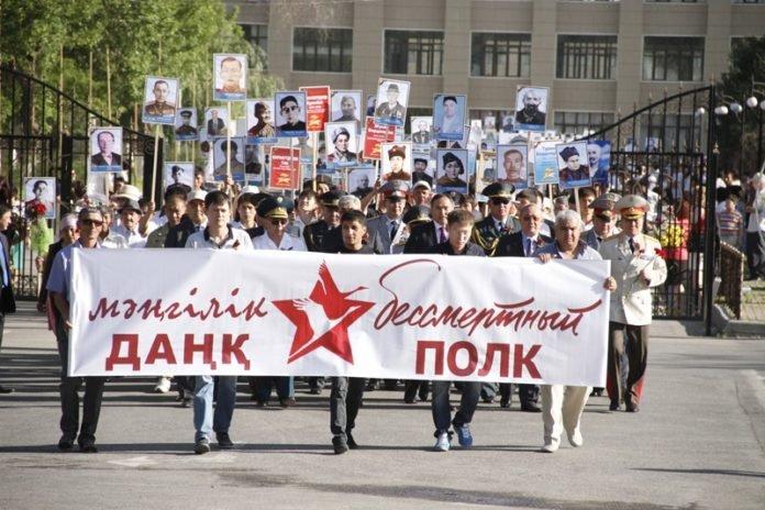 День Победы празднуют в Шымкенте