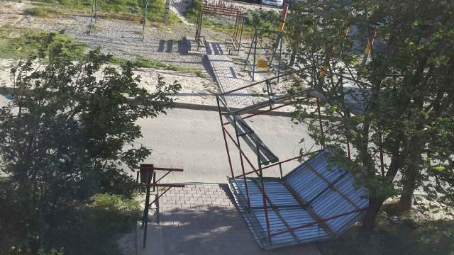 Чрезвычайная ситуация в Шымкенте в связи с погодными условиями