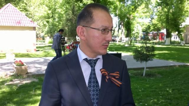 Галымжан Ильясов, аким Енбекшинского района: «Хочется выразить нашим ветеранам благодарность за мирное небо и независимость нашей страны»