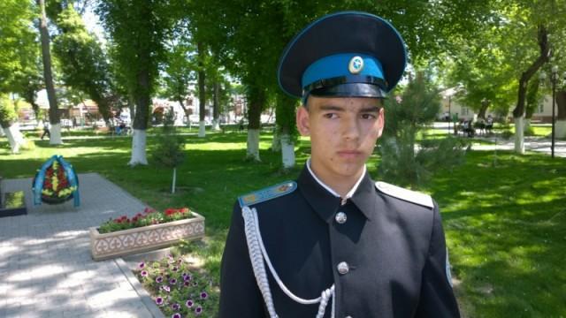 Станислав Приступа, воспитанник РВШ им. С.Рахимова: «Мы будем всегда помнить то, что участники войны сделали для  родины»