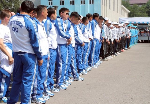 Более 150 сотрудников КНБ РК принимут участие в спартакиаде