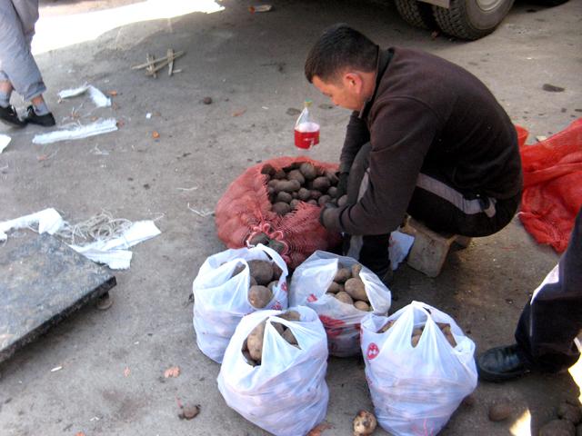 По самым скромным подсчетам, цена картофеля поднялась на 3 тенге за килограмм и теперь, составляет 73 тенге