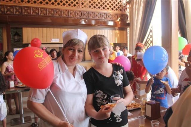 Ирина Гавриленко с дочерью Катей
