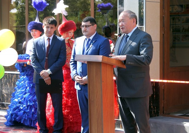 Али Бектаев поздравил с открытием нового корпуса КИПУДН