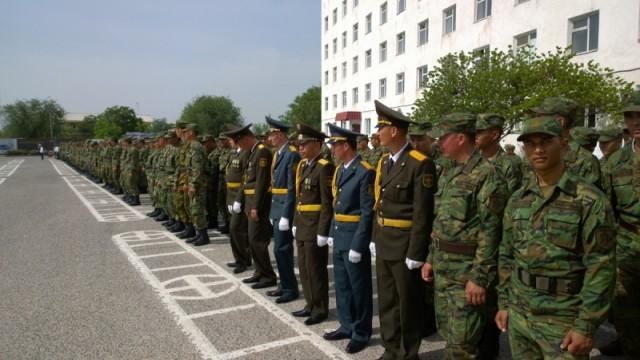 Минутой молчания военнослужащие почтили память павших в Великой Отечественной войне