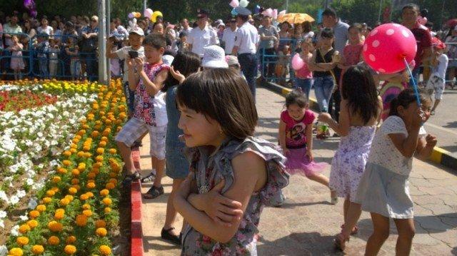 Счастливые дети - одна из главных целей защитников отечества