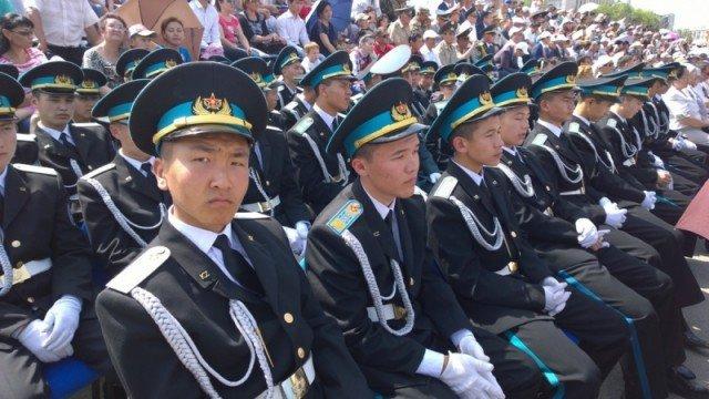 Воспитанники школы-интерната С.Рахимова
