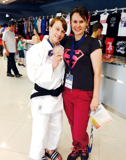 Александра Подрядова завоевала бронзовую медаль на Кубке Мира в Оренбурге (Россия)