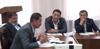 Заседание внеочередной 36-й сессии шымкентского городского маслихата