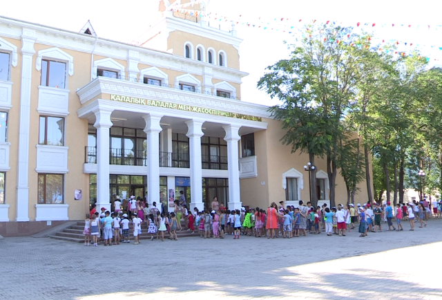 В Центре детства и юношества открылся оздоровительный лагерь