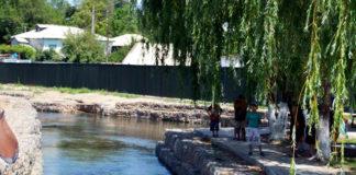 Новая зона отдыха на Кошкар-ате