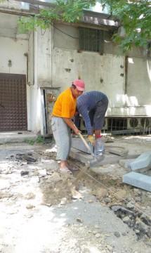 В этом году в Аль-Фарабийском районе будут отремонтированы 52 двора