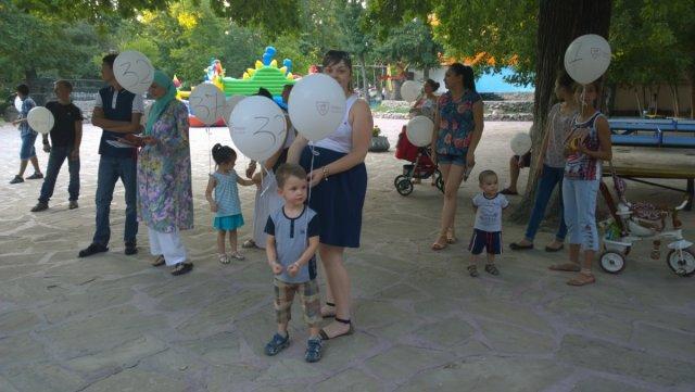 Дети тоже участвовали в роыгрыше