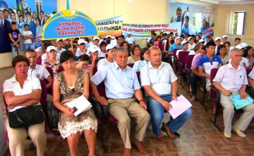 Первые 450 человек уже изъявили желание внести свой вклад в реализацию строительных программ области