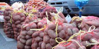 Килограмм картошки на базаре продают по 170 тенге