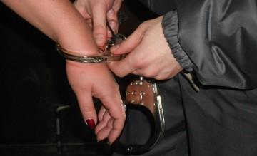 Задержание женщины