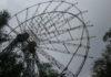 В Шымкенте демонтировали аттракцион «Чертово колесо»