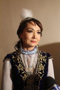 Нуржамал Усенбаева. Интервью перед концертом.
