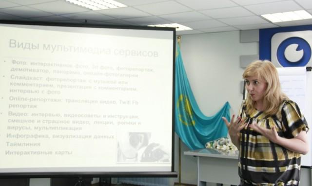 Ольга Каплина - медиатренер