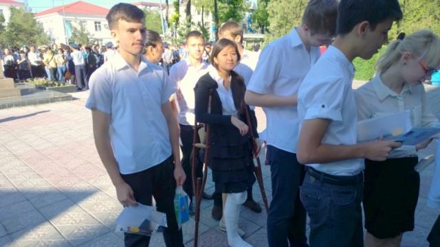 На ЕНТ приходят даже со сломанными ногами