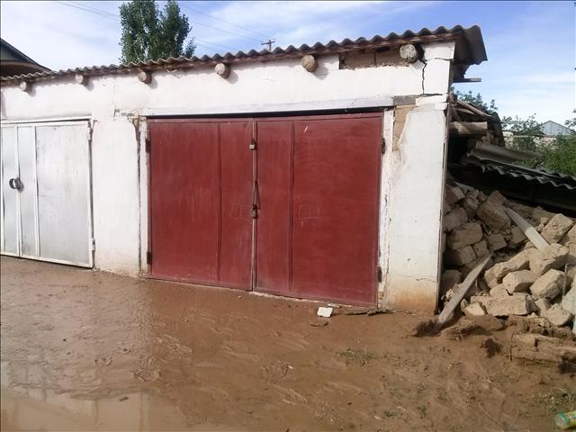 Водой затопило гараж