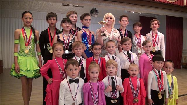 Танцевальный коллектив Шымкента