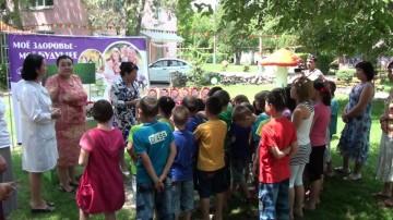 """Сотрудники компании """"Асыл Арман"""" объясняли детям как беречь здоровье смолоду"""