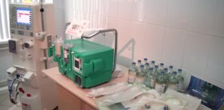 Управление здравоохранения установило оборудование экстракорпорального лечения МАРС-терапия в БСМП